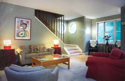 Photo for Spacious Beautiful Home with Soul,  Close to DC Sights, Easy Walk to Metro
