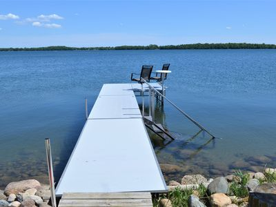 Photo for Little McDonald lake home right on the waters edge.  Perfect getaway!