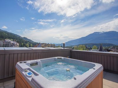 Photo for AMAZING Ski In/Ski Out Location! PRIVATE Hot Tub + Balcony!