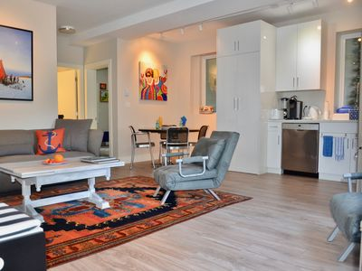 Photo for 1st Class Suite in Desirable Executive Home - Main level near parks beach & golf