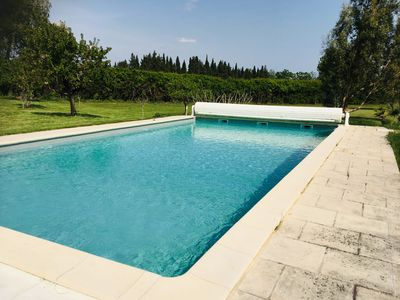 Photo for LA LEZARDIERE - SWIMMING POOL AND PARKING
