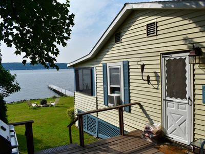 Photo for Saratoga Lake Direct Waterfront-Glorious Views! Private Dock/Deck/Yard.