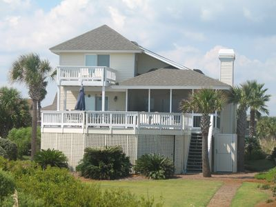 Photo for You can't get any closer to the Ocean when you stay in this Beautiful, Oceanfront Family Beach Home!