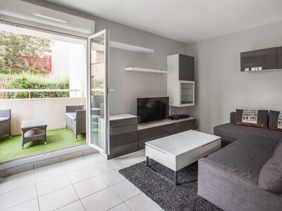 Photo for Modern flat with terrace and parking close to Disneyland Paris - Welkeys