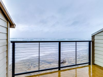 Photo for NEW LISTING! Waterfront condo w/ furnished balcony, ocean views & great location