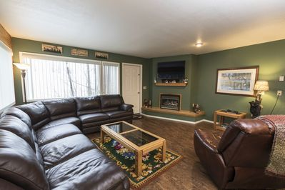 Lots of Seating in living room