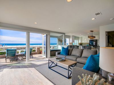 Modern OCEANFRONT Property with a Private Ground Floor Patio!