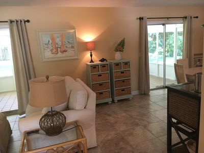 Photo for Live like a Local! Private NSB home, walkable to town and the beach.