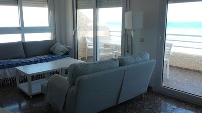 Photo for SPECTACULAR APARTMENT IN FIRST LINE OF BEACH