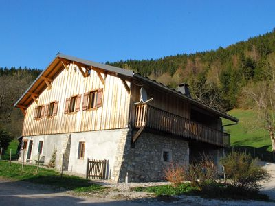 Photo for The pre-alpine chalet of Tigny