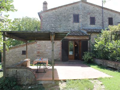 Photo for Beautiful rustic farmhouse completely restored in the countryside of Siena