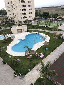Photo for NEW FLAT TORRE DEL MAR, 5 MINUTES FROM THE BEACH, WITH POOL AND PADDLE TRACK