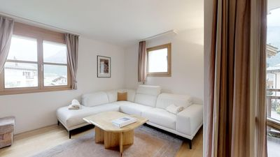 Photo for Nice, bright and quiet 3½-room apartment on the first floor, facing south, 94m2.