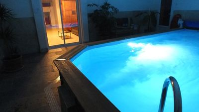 Photo for New house with Internal Swimming pool warmed all year long!