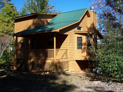 Photo for Cherokee Rose is a Cozy secluded Cabin for a perfect romantic getaway