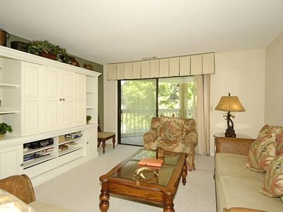 Photo for The open floor plan and cozy furnishings will make your stay in this 2nd floor, end unit, 2 bedroom