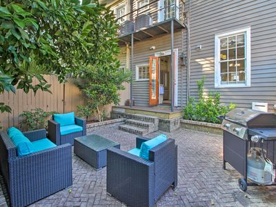 Photo for NEW! Historic Savannah Home w/Outdoor Grill, Patio