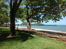 Palm Cove beach and view over the jetty to Double Island