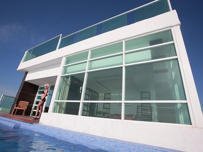 by Tim M -Penthouse #2000 - 2 Private Pools, 1 Heated, AC, All Glass, Amazing!