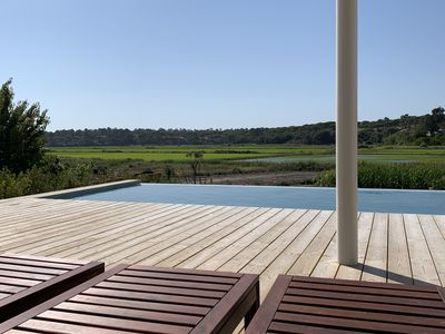Photo for Country Beach House w / Infinity Pool