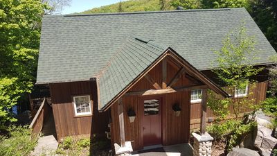 Photo for Perfect Northern Lodge with Relaxing Hottub and Wood Burning Fireplace!