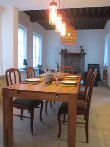 Photo for exciting spot Located in the heart of the Medieval City of Bruges with a Garage