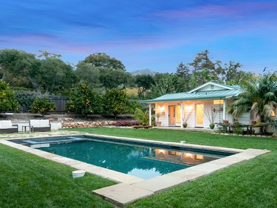 Photo for 4BR/2.5BA Montecito Luxury Home w/ Pool & Spa - Sleeps 8