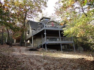 Photo for Jesse Jame's Hideout - Lakefront 4 Bedroom, 3 Baths, Pool Table, 2 Decks