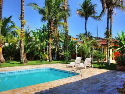 Photo for Guaruja year round !!! - 8DTS (two suites) ,. Story home with pool