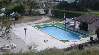 Photo for Apartment with private pool - maximum 4 people