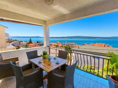 Photo for Holiday apartment Crikvenica for 4 - 5 persons with 2 bedrooms - Holiday apartment