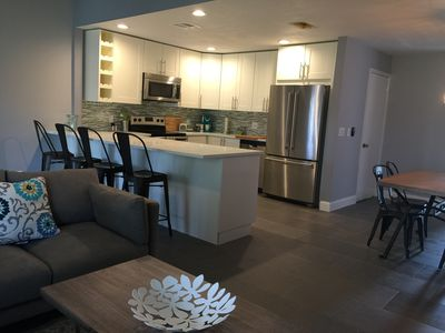 Photo for Fully remodeled furnished townhouse, stocked kitchen, in heart of Wellington
