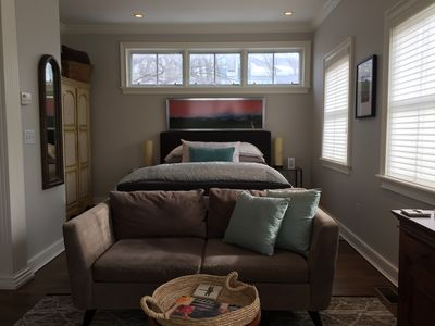 Photo for Luxury One-Bedroom Carriage House in the Heart of Burlington