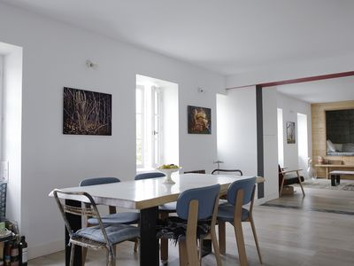 Photo for Beautiful apartment in Guéthary, 100m from the center, 5 min walk from the beach beaches.