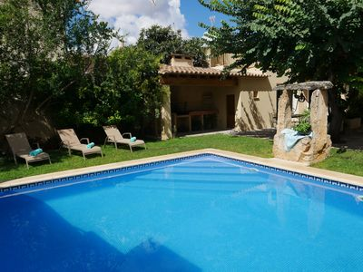 """Photo for Casa """"Ca Ma Mare"""", typical Mallorcan town house with pool, absolute peace"""