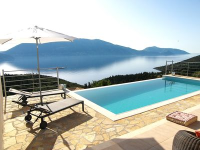 Photo for Luxury Villa in Evreti Fiskardo  with Private Pool and Stunning Sea Views
