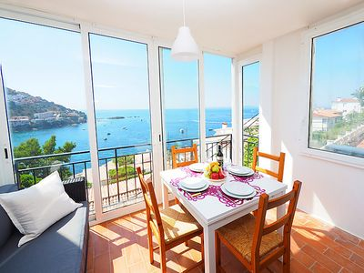 Photo for One bedroom Apartment, sleeps 3 in Roses with Air Con