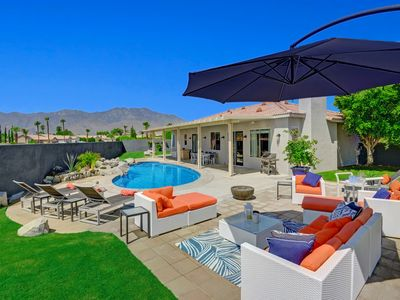 Photo for Swim, Relax, Repeat - 4BR Mountain-View Sanctuary w/ Private Pool & Spa