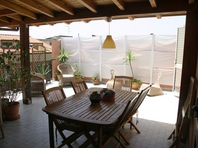 Photo for Bright apartment on the sea! Roccalumera near Taormina