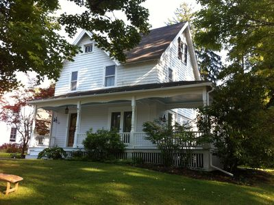 Photo for Furnished 4 Bedroom Home In Center Of Lakeville 200 Feet From Town Beach