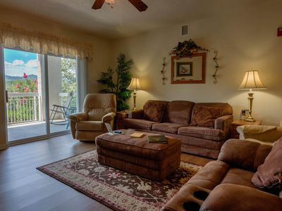 Photo for Sleeps 8! 3 BR, Downtown-Clean, Indoor Pool, King Beds, 3 Bathrooms
