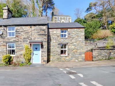 Photo for In Penrhndeudraeth is an old cottage from the early eighteen hundreds 2 Efail Wen semi detached with