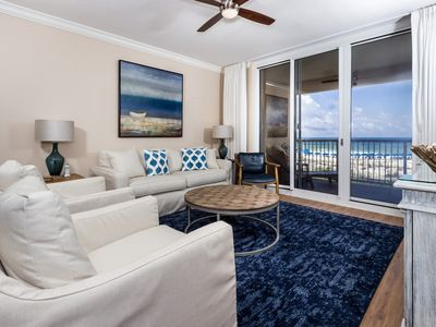 Photo for Listen to the sounds of the Gulf in this GORGEOUS GULF FRONT CONDO! Open July 28