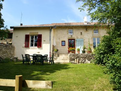 Photo for Authentic, quiet cottage with green garden near Bar-le-Duc