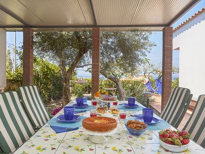 Photo for INDEPENDENT VILLA VIEW SEA BETWEEN PALERMO-CEFALU 'WIFI SPECIAL OFFER SEPTEMBER