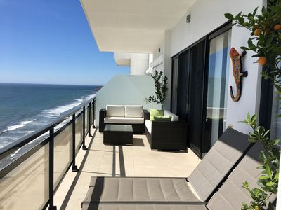 Photo for Oceanfront, 3 BR/3.5 BA, New, Luxury Condo on the Beach in Pearl Tower, Mazatlan