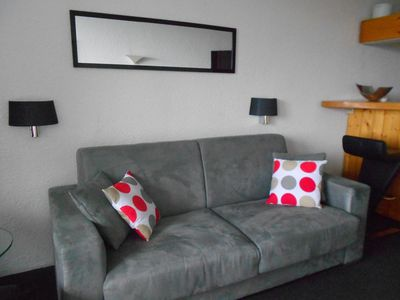 Photo for Pierra Menta nice studio for 5 people on the slopes and shops