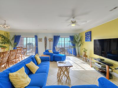 Photo for Atlantis Villas 103, 6 BR Ocean Front Condo with Game Room, Outdoor Swimming Pool and Hot Tub