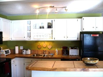 Well equipped kitchen for making scrumptious meals or just a snack.