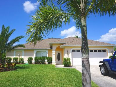Photo for Light flooded dream villa in a prime location on the marina of Cape Coral
